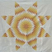 Star Quilt circa 1920 - Ohio