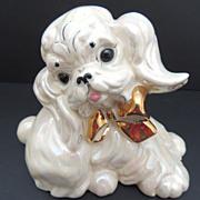 SALE Vintage Kay Finch Poodle Figurine