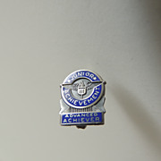 SALE Junior Achievement Sterling Silver Pin