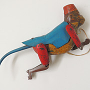 Lindstrom Climbing Monkey Tin Toy