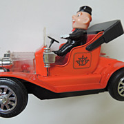 Japan Tin Toy Car Jalopy Nomura T.N.