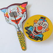 U S Metal Toy Company Noisemakers