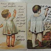 Vintage Germany Fold Out Postcards