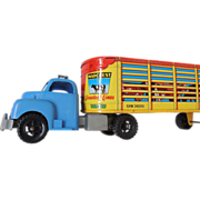 Marx Truck And Livestock Trailer