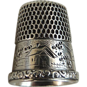 Sterling Silver Simmons Brothers Thimble