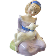 Royal Doulton Mary Had A Little Lamb Retired HN 2048