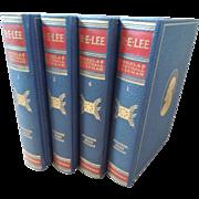 SOLD 4 Volume Set Robert E. Lee Biography