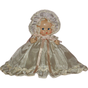 "So sweet - Little 7"" HTF Eugenia Dolly A/O - c1930's"