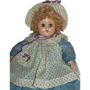 "SOLD Baby McGuffey - 11"" Composition Baby Doll by MA - c1937 A/O"