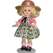 Vogue Ginny Doll in Medford tagged Dress