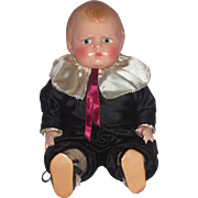 """SOLD Very Charming 14"""" Effanbee Composition Baby Grumpy Doll"""