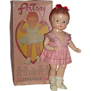 """SOLD Adorable 14"""" Effanbee Patsy Doll - A/O with Box - Excellent!"""
