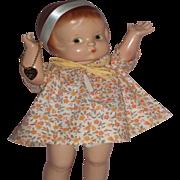 """Wonderful 13"""" Effanbee Patsy Ann Doll A/O"""
