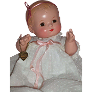 "10"" Effanbee Patsy Baby w/bent knees C1930's – Beautiful Coloring!"