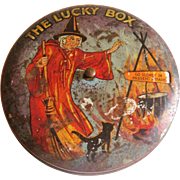 SOLD The Lucky Box game in a tin with witch