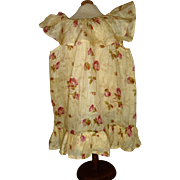 Hand made muslin flowered pinafore dress