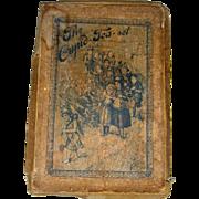 Early miniature boxed doll tea set