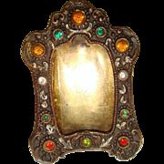 Miniature jeweled frame