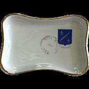 Vintage Cannes Porcelain Limoges Tip Tray