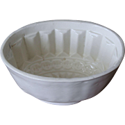 19th Century French Pottery Food Mold