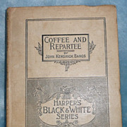 'Coffee and Repartee', by John K. Bangs - 1893