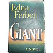 Giant, by Edna Ferber - BOMC Edition, Doubleday, 1952