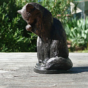 Curio Cabinet Cat - Animalier Style Bronze - Franklin Mint - ca. 1986-88