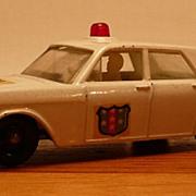 Matchbox #55c - Ford Galaxy ('Galaxie') Police Car - Red Light - ca. 1965-69