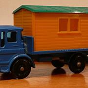 Matchbox #60b - Site Hut Truck - ca. 1965-69