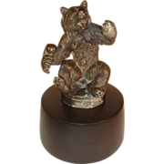 Antique Vienna Bronze Bear Figure Sculpture.