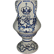Old Dutch Delfts Blue Jar.