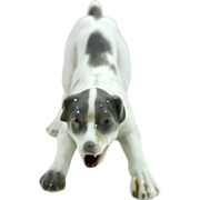 REDUCED Vintage Gebruder Heubach Porcelain Terrier Dog 1882-1938