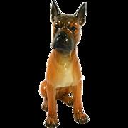 Large Goebel Boxer Dog Figurine Mint