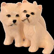 Vintage Beswick West Highland Terrier Dog Pair