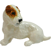 Royal Doulton Seated Sealyham Terrier Dog Retired HN2508 c. 1938 - 1959