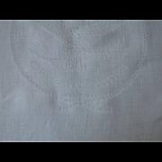 SALE Original Set of 12 S S UNITED STATES Lines Irish Linen Napkins, Rare!