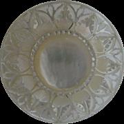 SALE Vintage Carved Shell Brooch Flower