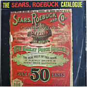 SALE 1902 Edition of Sears Roebuck Catalog, Vintage 1969 Reprint