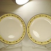 Pair of Wedgwood Creamware Plates C1810-1820