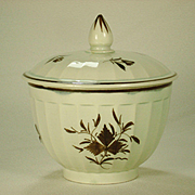 Pearlware Salopian Decorated Sucrier C 1810