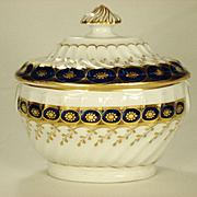 Chamberlain Worcester Sugar Bowl 1796-1800