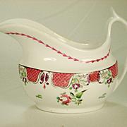 Spode Porcelain Creamer, Chinese Pattern   C 1812-1820