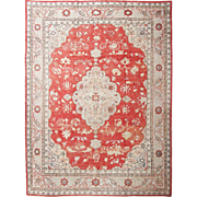 SALE Antique Vibrant Oushak Carpet, 11' x 15'