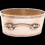 SALE Vintage Danish Silver Napkin Ring Simplistic design