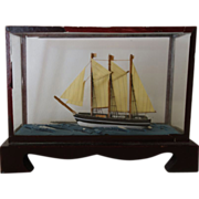 REDUCED Ship Diorama Miniature- old