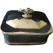 Reed & Barton Sardine Box- Silverplate c. 1868