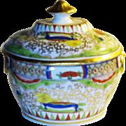 SALE English Worcester Porcelain Bengal Tiger, Dragon, Bishop Sumner small Tureen