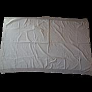 SALE Jacquard Crib Coverlet- natural,  gorgeous mid1800