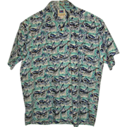 SOLD Avi Collection By Kahala Hawaiian Shirt Size L