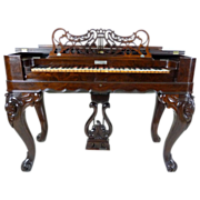 SALE Melodeon Rosewood American Victorian c. 1860
